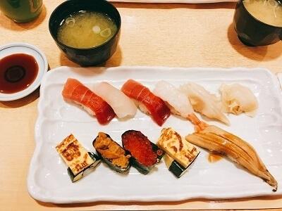新潟、回らない、寿司屋