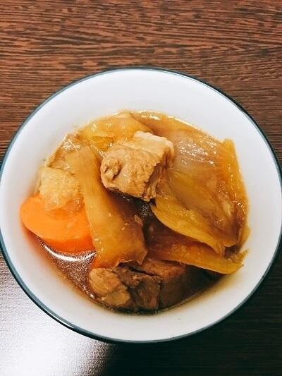 西野七瀬、実家の味、豚の角煮