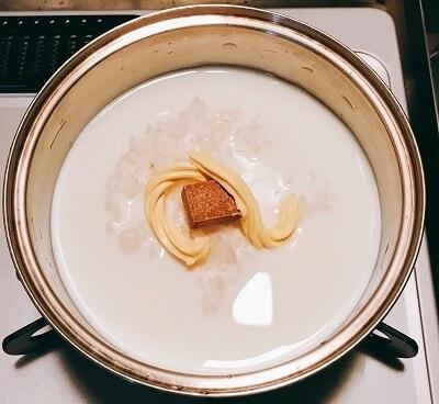 一人暮らし、冷凍ご飯、チーズリゾット