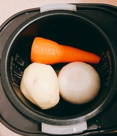 炊飯器、簡単、ポトフ