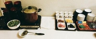 ビジネスホテル、朝食、女性