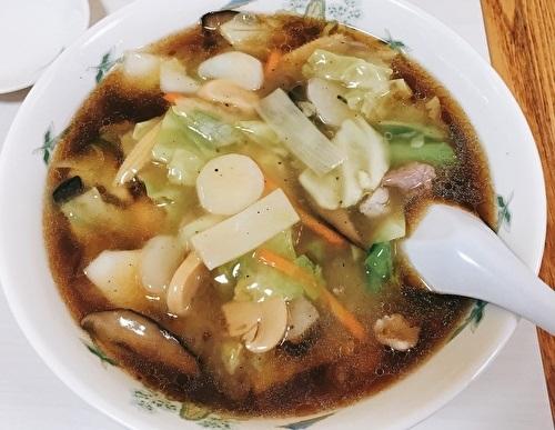 草加駅、中華料理、うまにそば